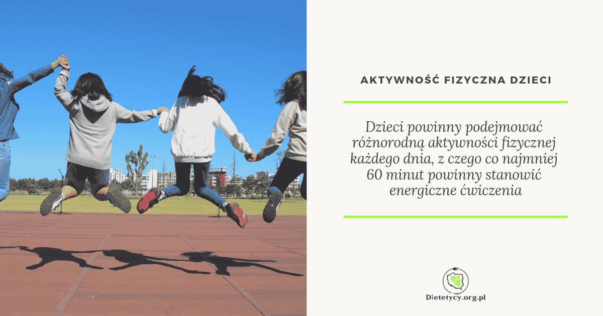 aktywność ruchowa dzieci cukrzyca