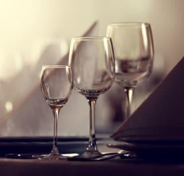 kieliszki wina