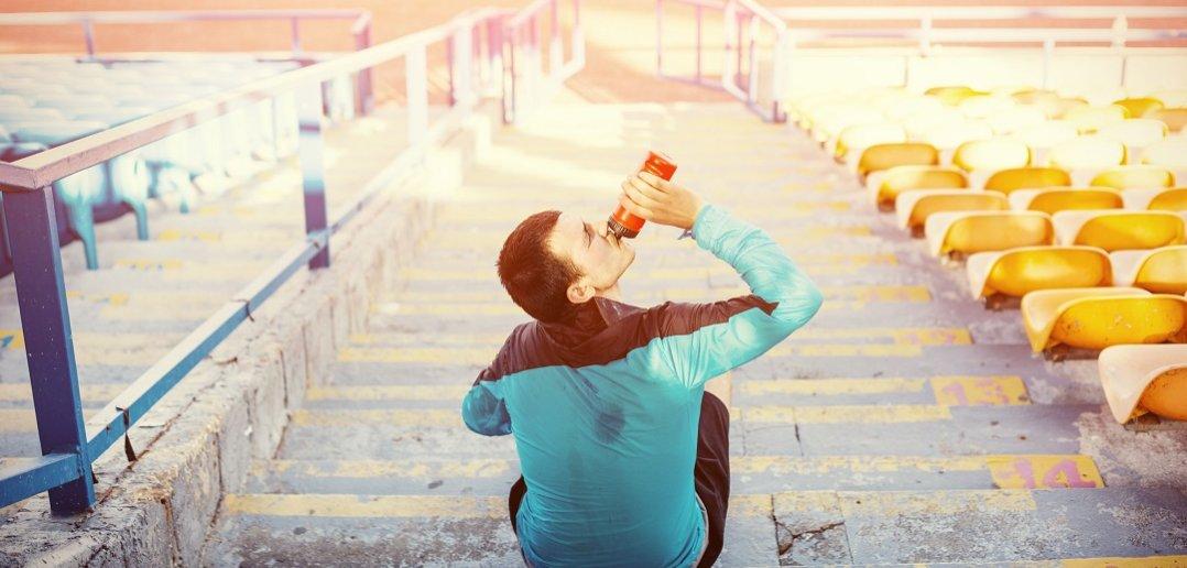 uzupełnianie płynów sport