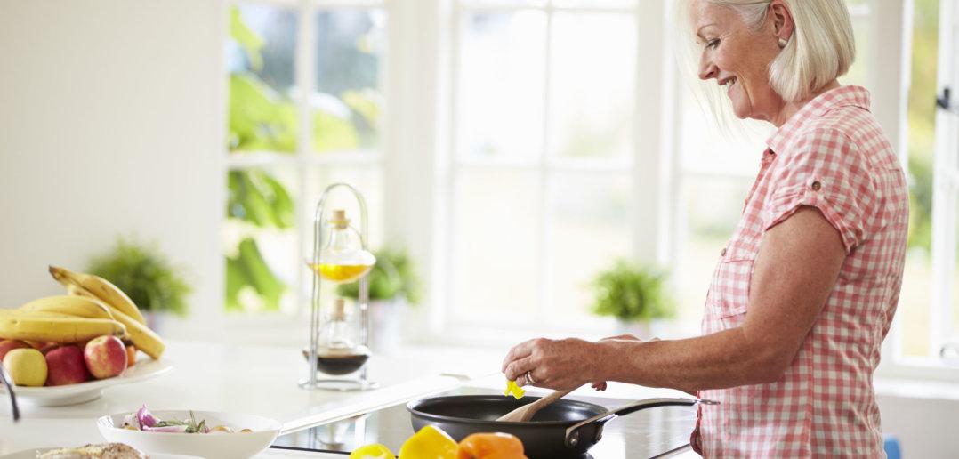 menopauza smażenie