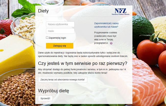 diety nfz