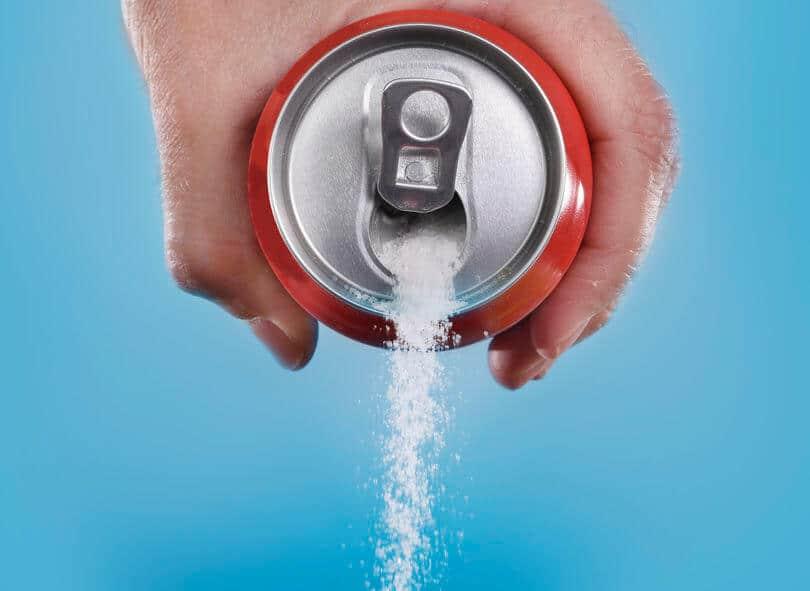 puszka cukier