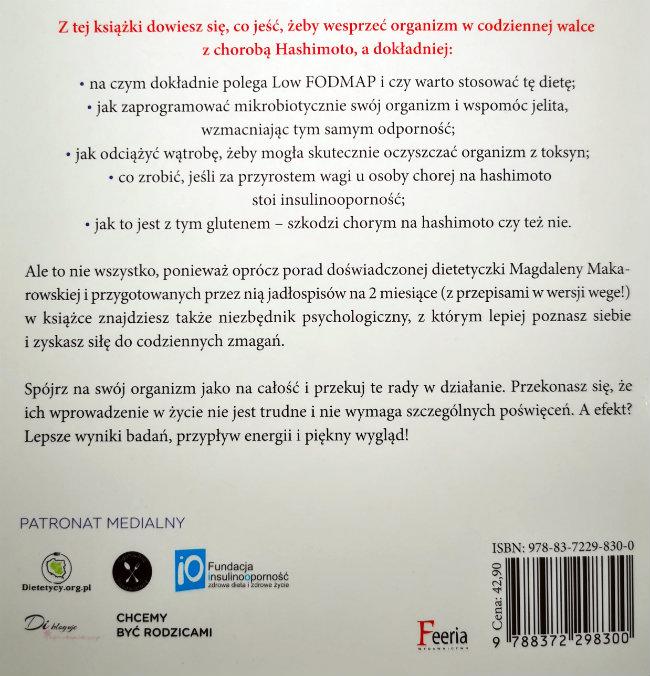 Hashimoto Na Widelcu Magdalena Makarowska Recenzja Dietetycy