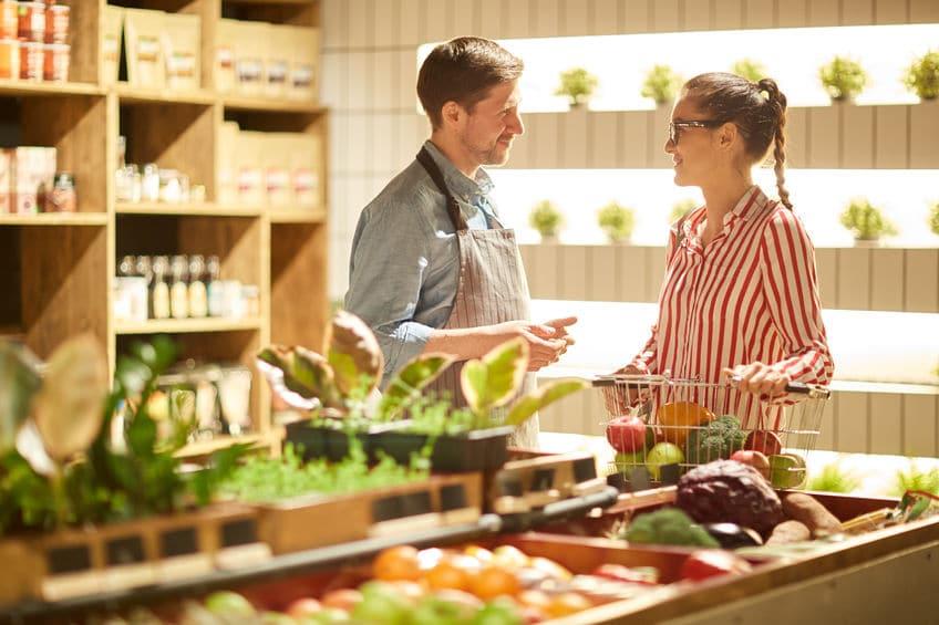 dietetyk w supermarkecie