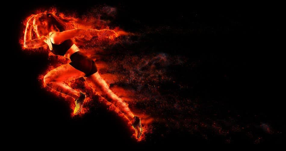 sprint ogień