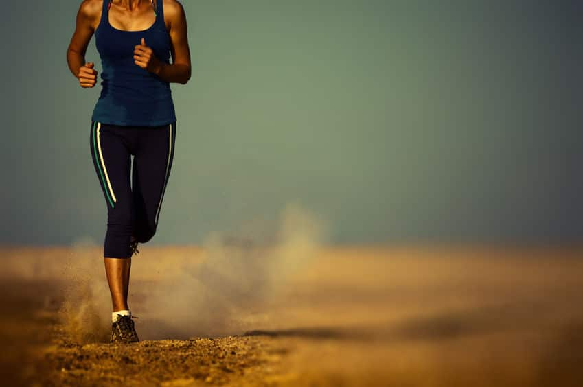 bieg trening