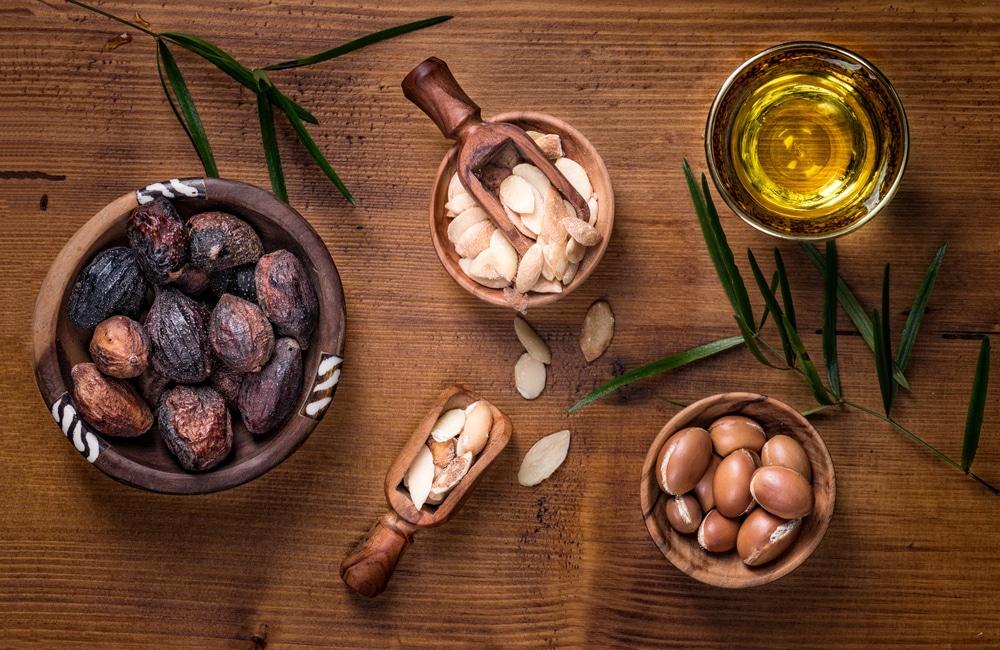 olej arganowy orzechy