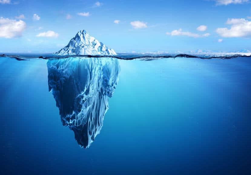 przekonania góra lodowa