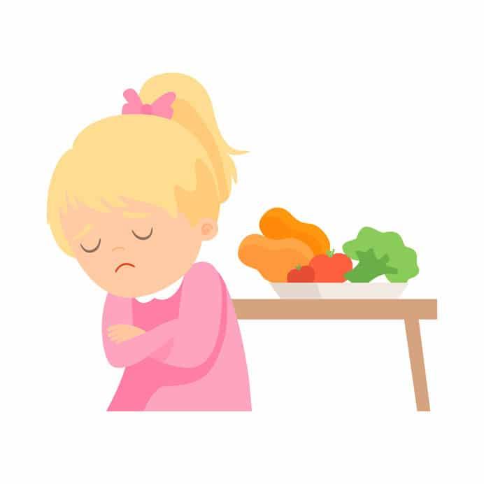 zaburzenia jedzenia dziecko