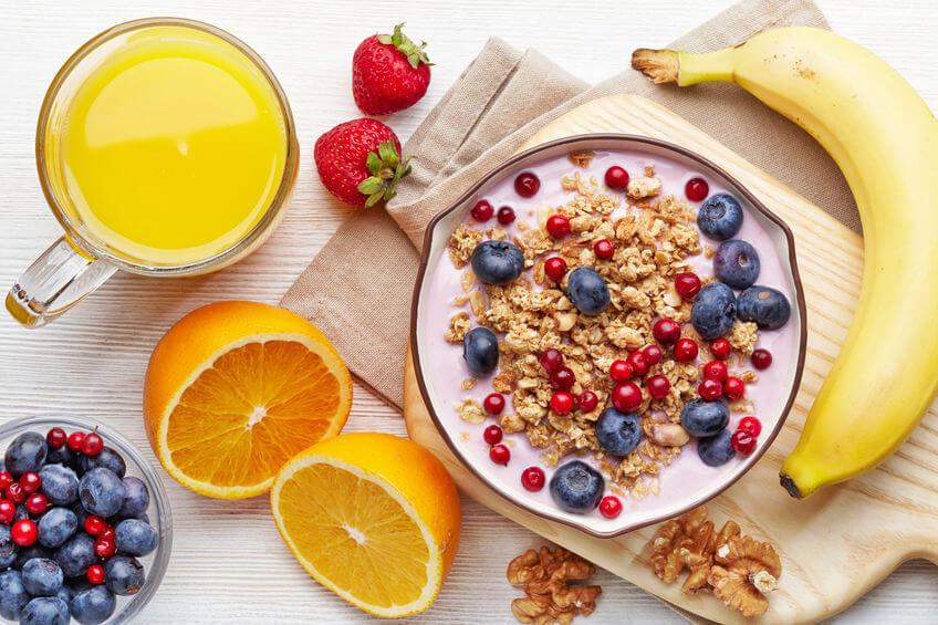 śniadanie pełne ziarno