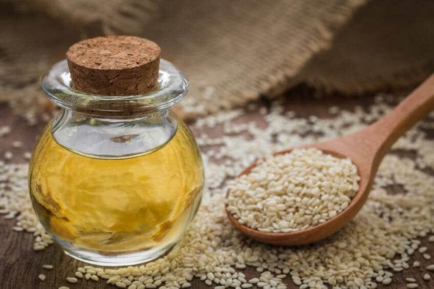 olej sezamowy sterole