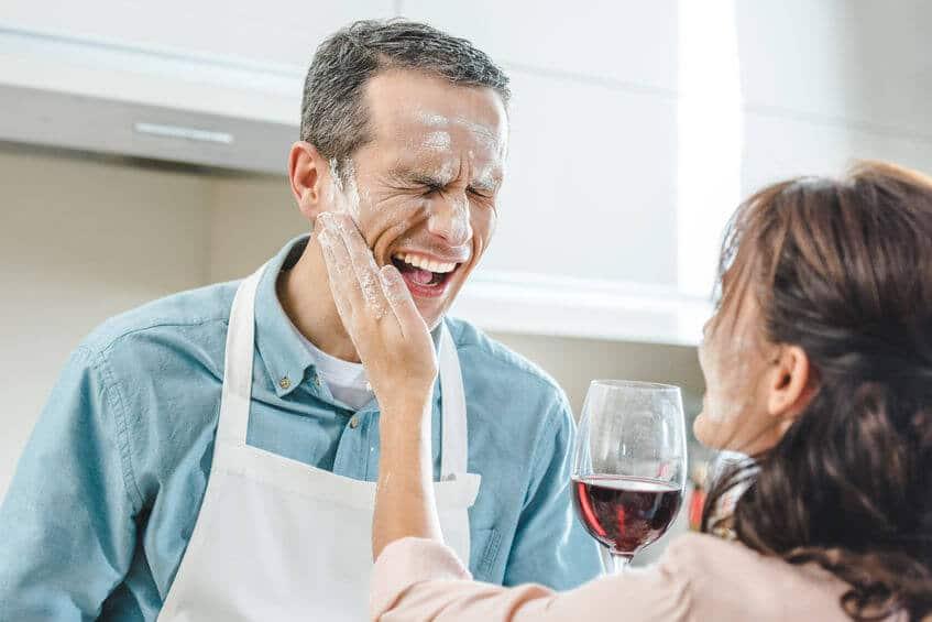 czerwone wino kuchnia