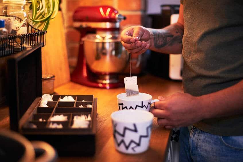 parzenie herbaty torebka
