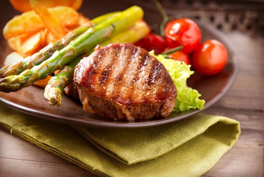mięso warzywa