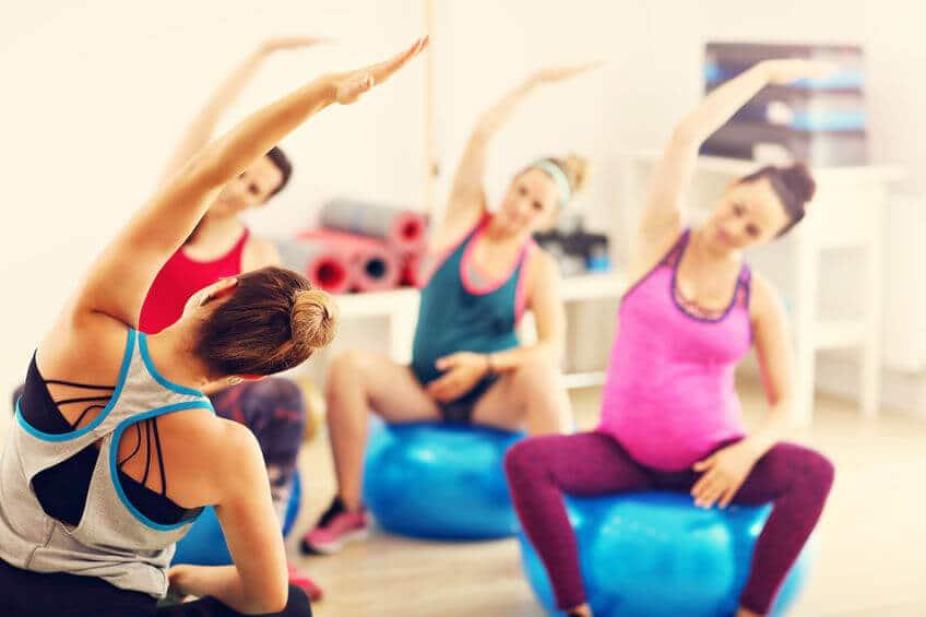 ciąża fitness