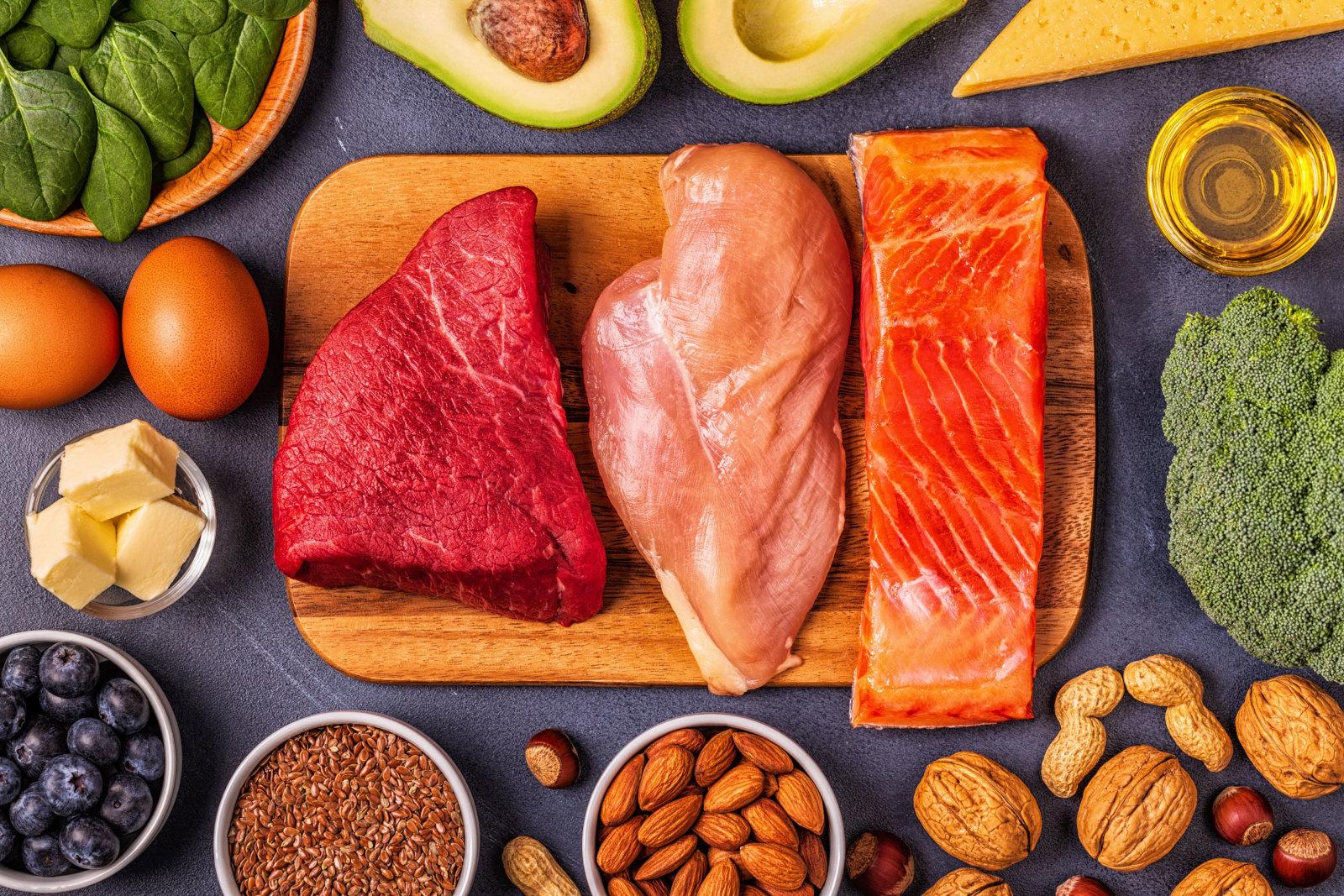 dieta bogata w białko