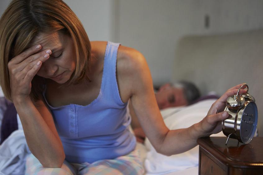 bezsenność menopauza
