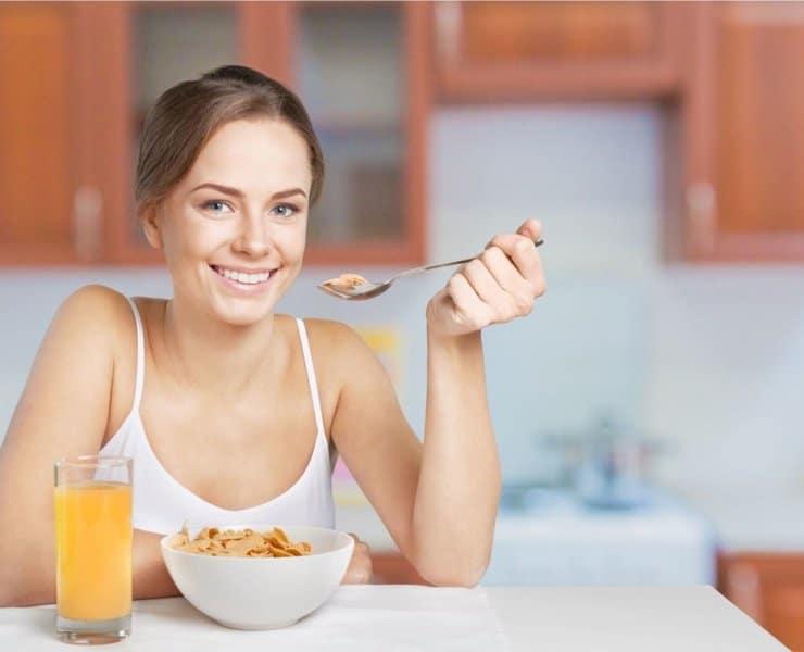 śniadanie przed treningiem