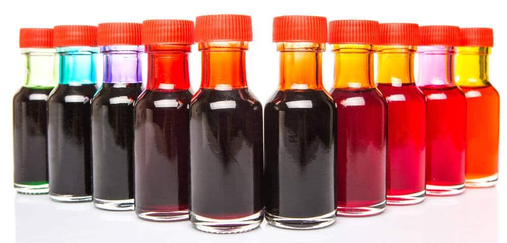 dodatki do żywności barwniki