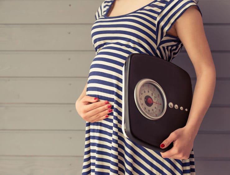 masa ciała w ciąży
