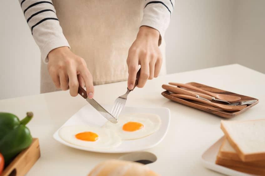 jajka jedzenie