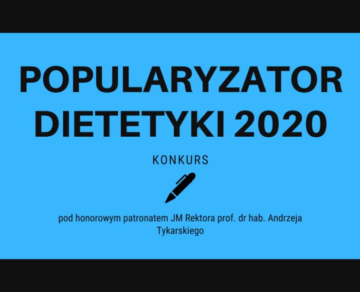 pupularyzator dietetyki 2020