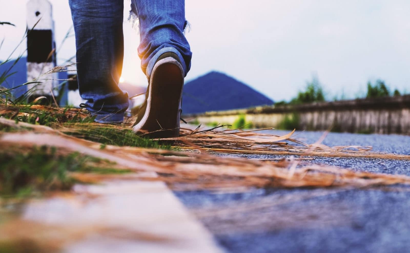 chodzenie