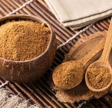 cukier kokosowy drewno