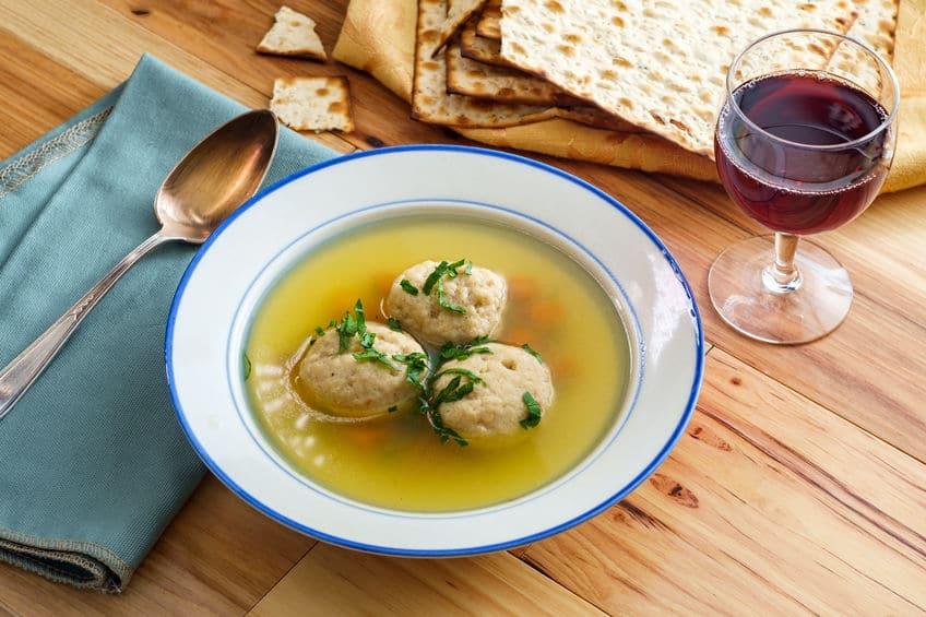 koszerność zupa kneidel