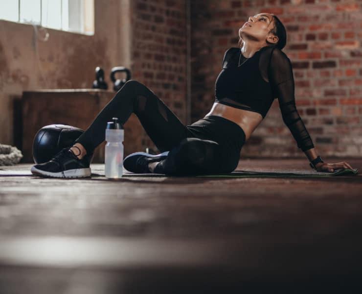 odpoczynek po treningu