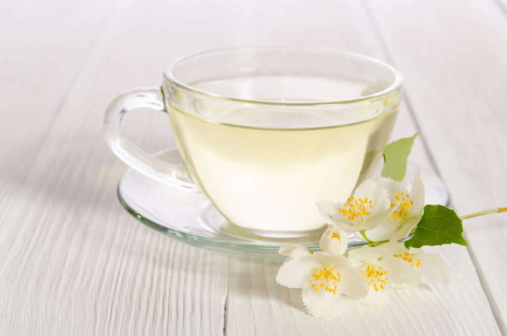 herbata biała napar