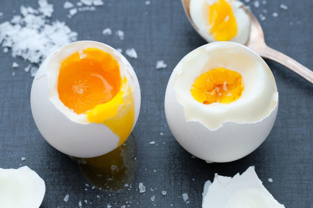 jaja na miękko