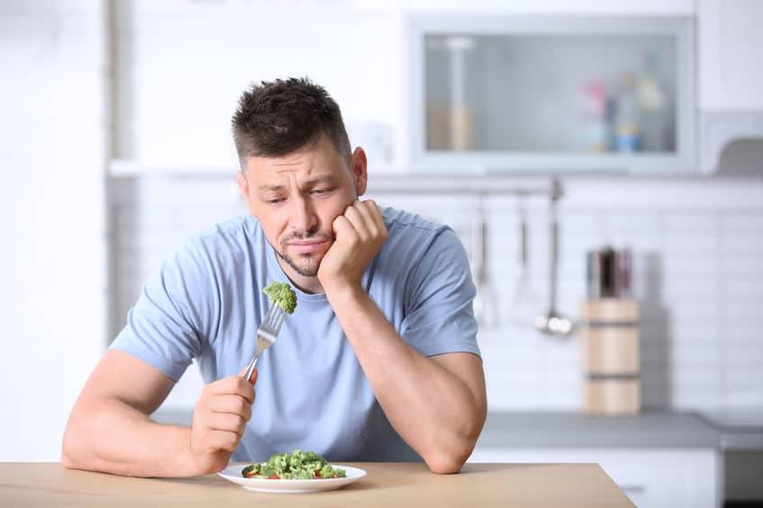 dieta roślinna smutek