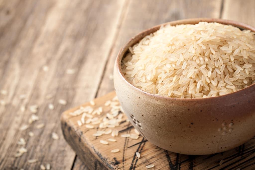 parboiled ryż