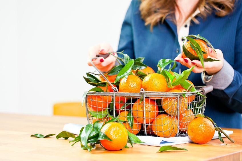 klementynki mandarynki