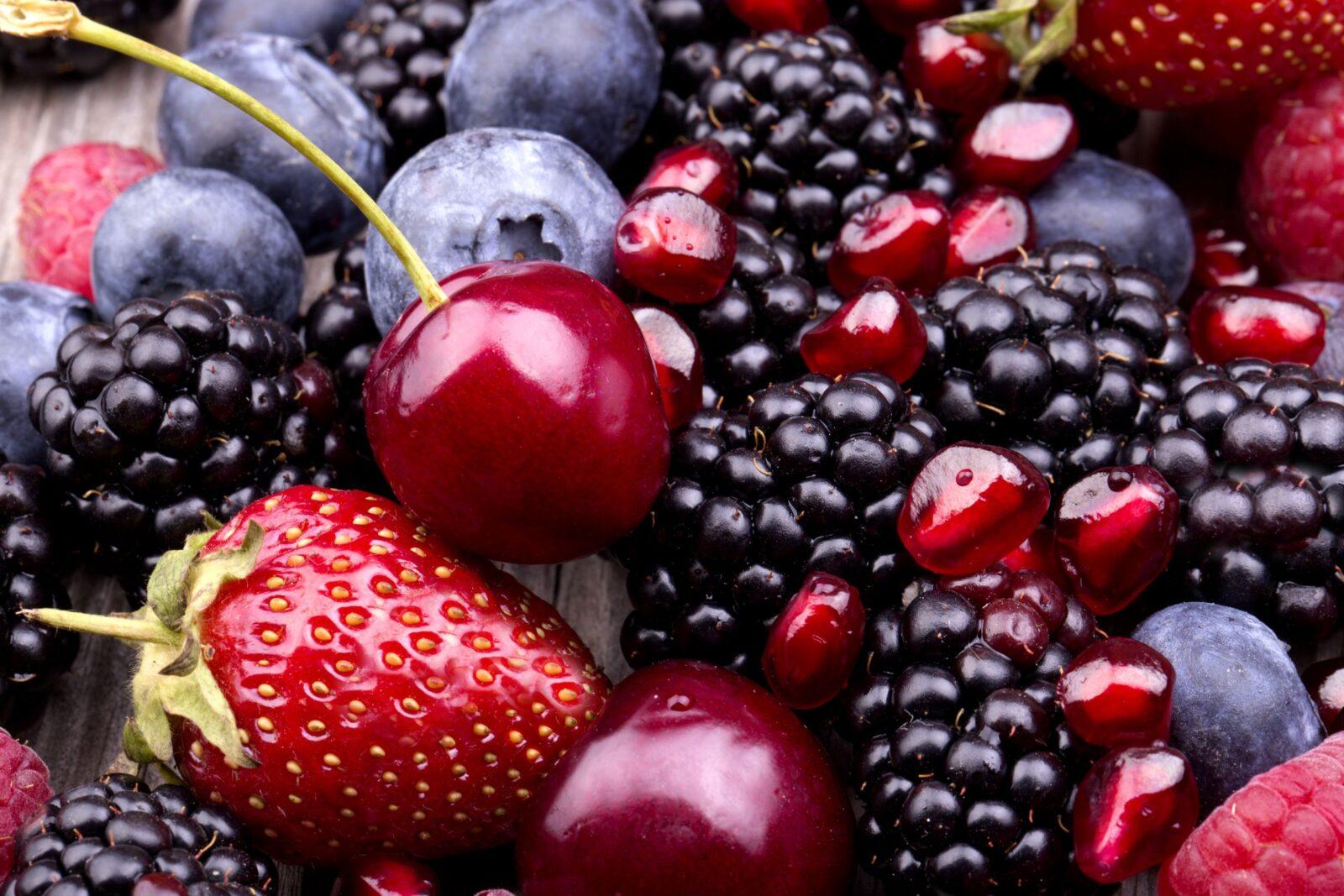 owoce cukier