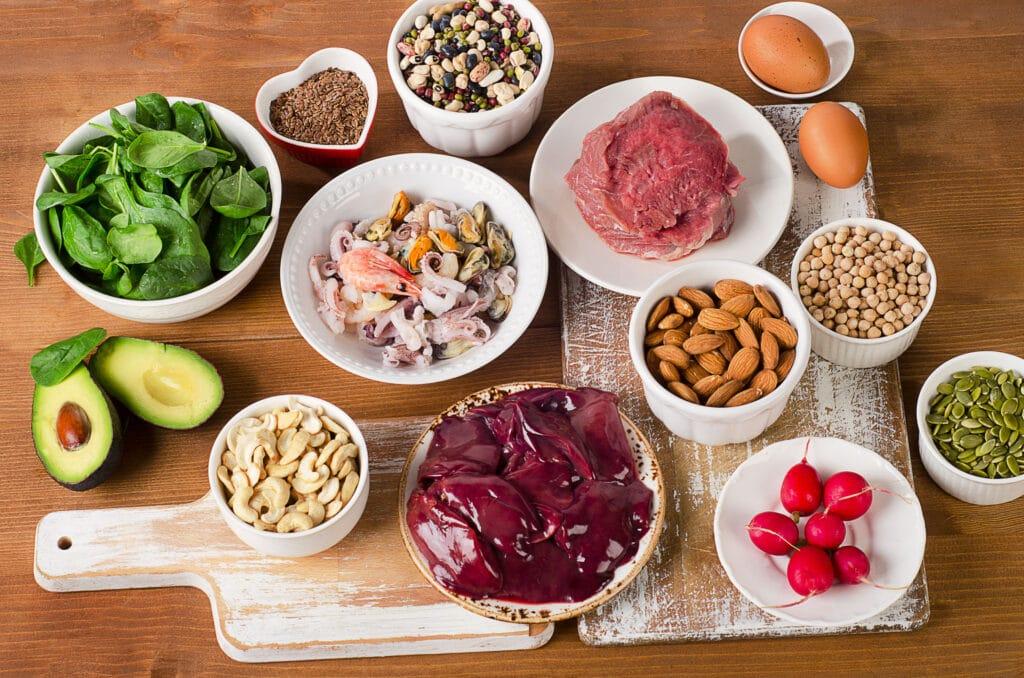 płodność cynk dieta