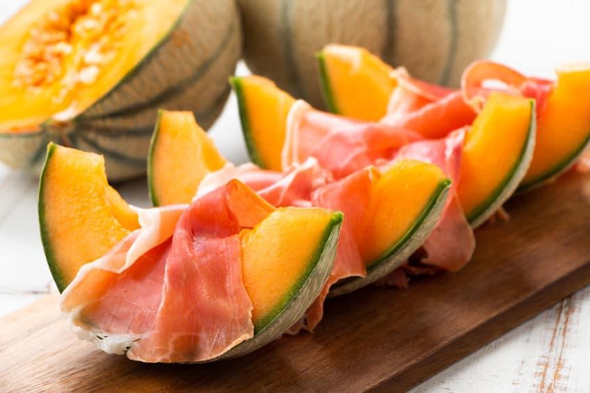 melon szynka