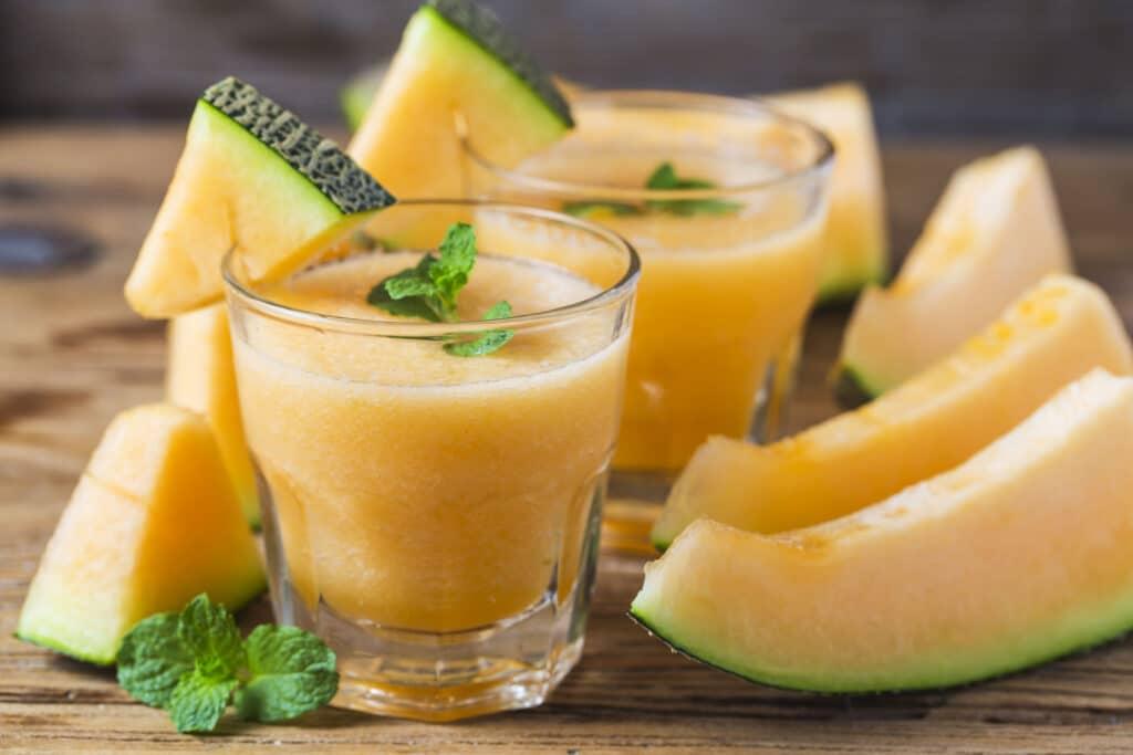 melon koktajl