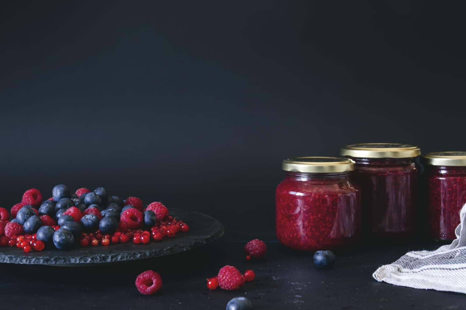 przetwory owoce jagodowe