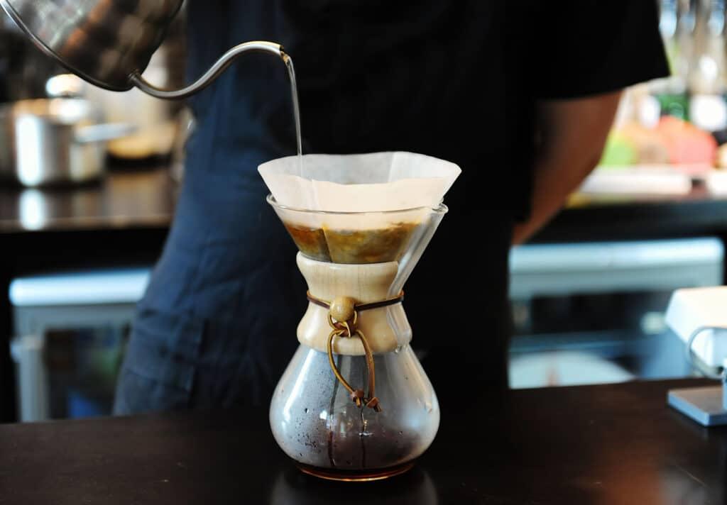 parzenie kawy chemx