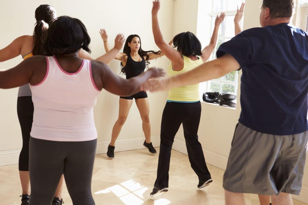 otyłość aktywność