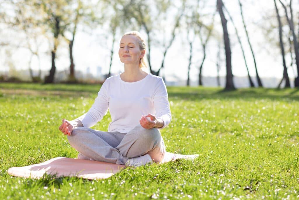 medytacja stres biohacking