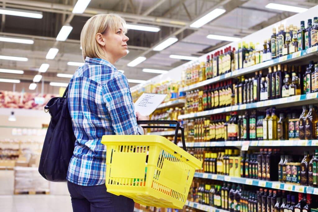 dieta przy niskim budżecie supermarket