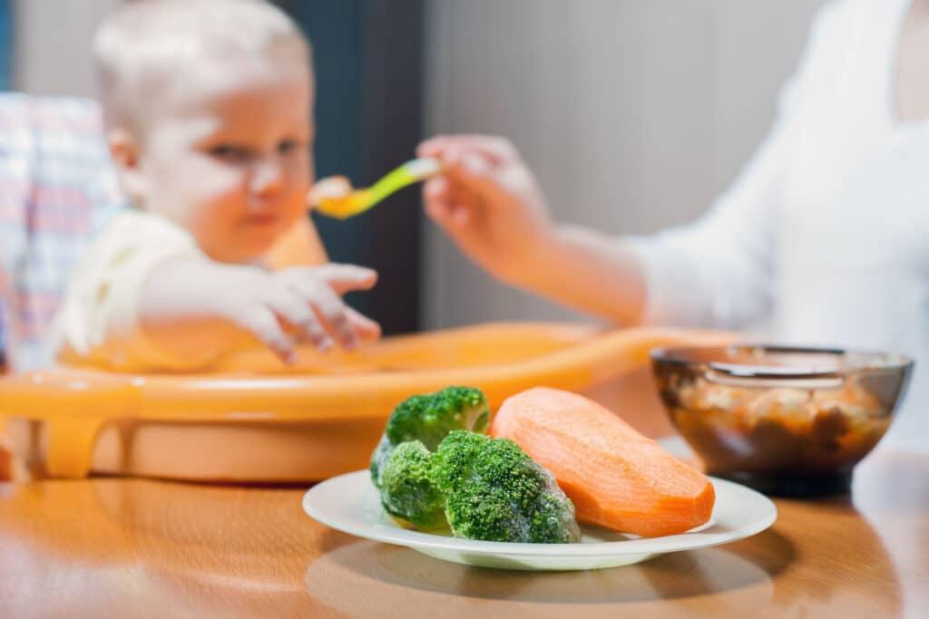 dziecko karmienie