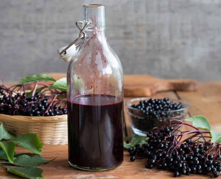 sok z czarnego bzu