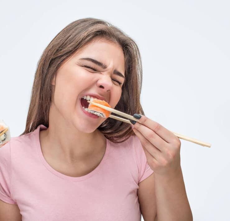 sushi jedzenie