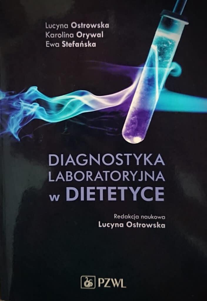 Diagnostyka laboratoryjna w dietetyce okładka