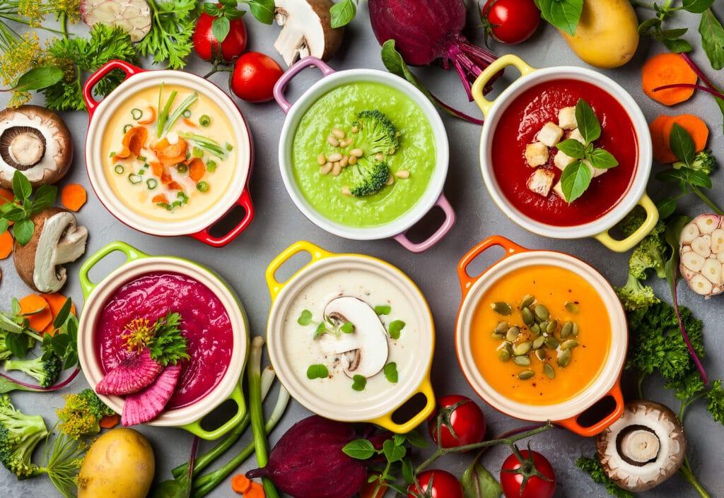zupy rodzaje