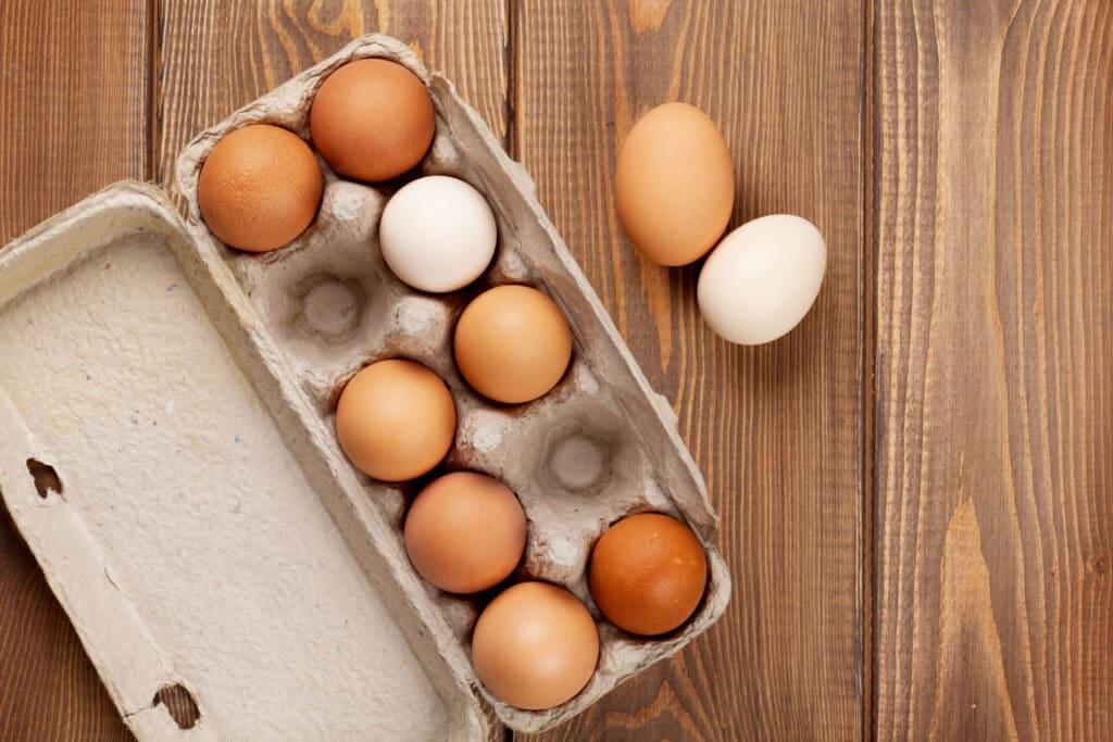 jaja kobiałka